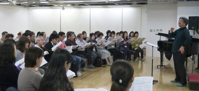合唱団練習