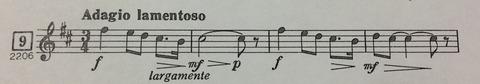 メロディー譜-2
